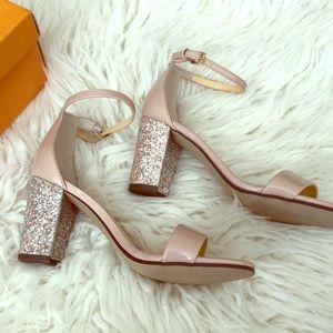 b302dad807 Women Fuchsia Glitter Heels on Poshmark